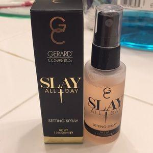 GC setting spray